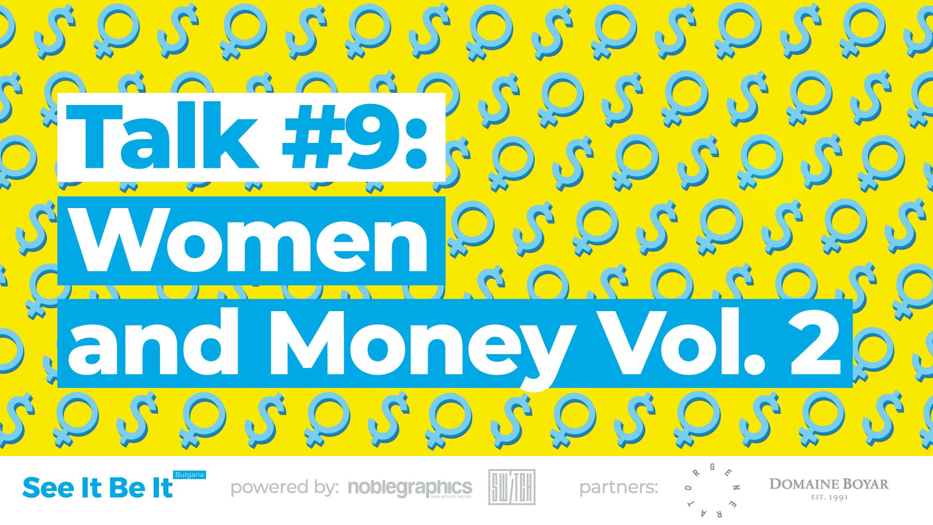 See It Be It: Women and Money Vol. 2 (Talk #9)